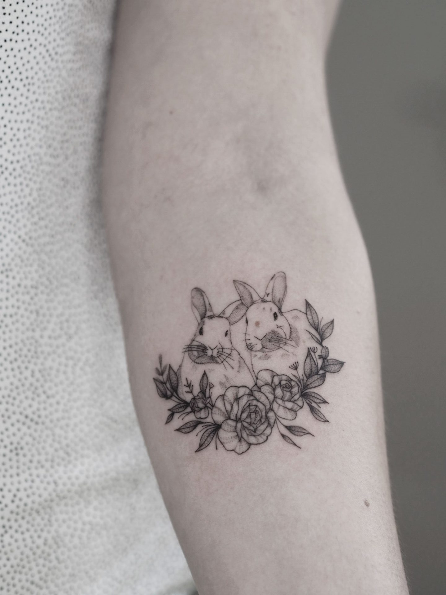 bunniesandflowers