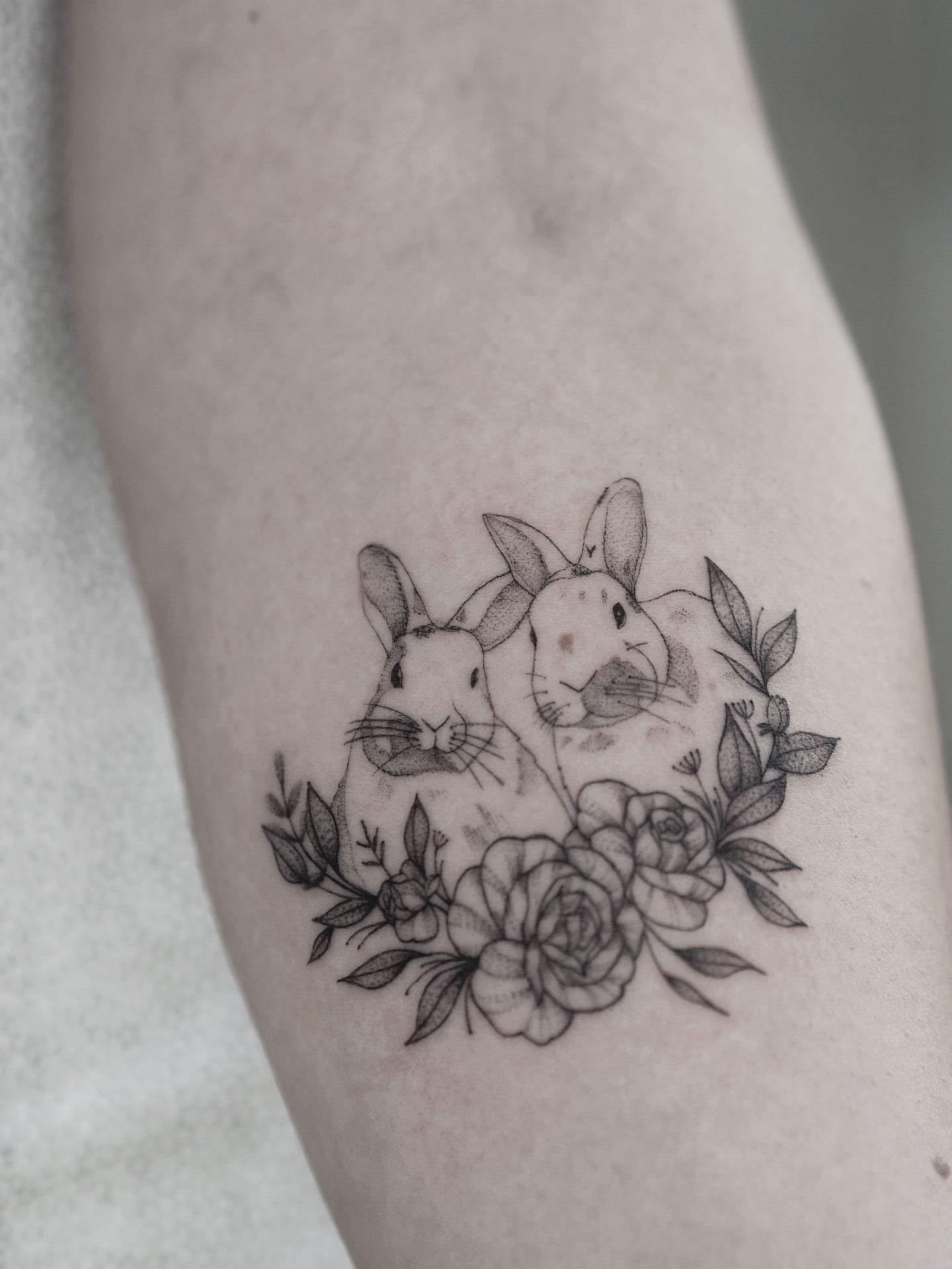 bunniesandflowers2