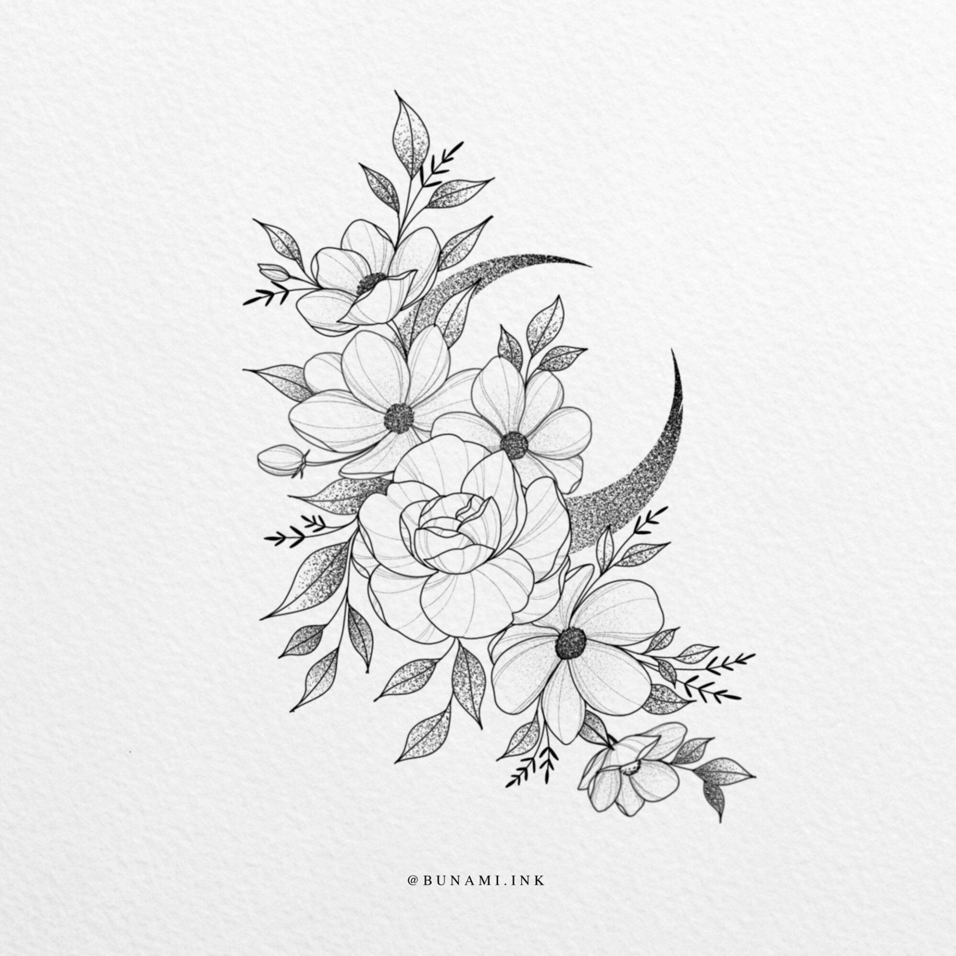 big-crescent-floral