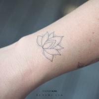 BUNAMI INK temporary tattoo, temporäres tattoo