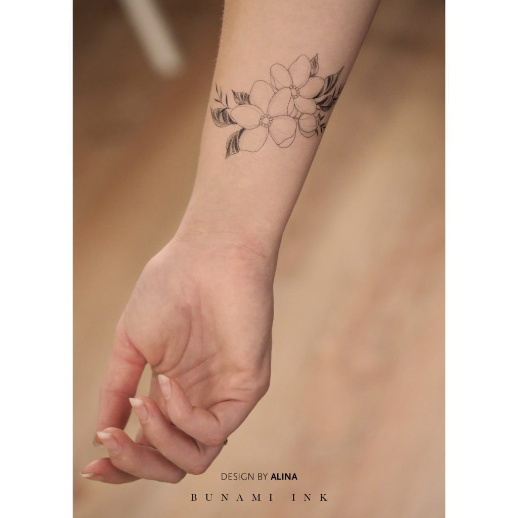 BUNAMI INK temporary tattoo / temporäres Tattoo, Flash A