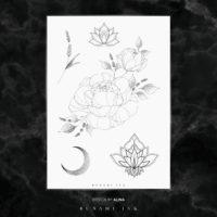 BUNAMI INK temporary tattoo / temporäres Tattoo, flash B