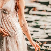Flash A – temporary Tattoo by Alina