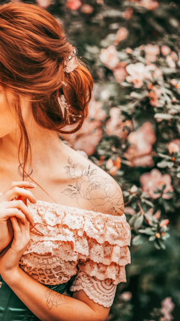 Flash B – temporary Tattoo by Alina