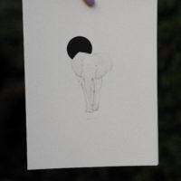 Elephant artprint (Hahnemühle fine art paper, 210gsm)