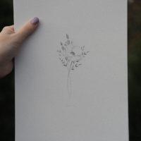 tiny bouquet artprint (Hahnemühle fine art paper, 210gsm)