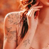 Flash D – temporary Tattoo by Alina