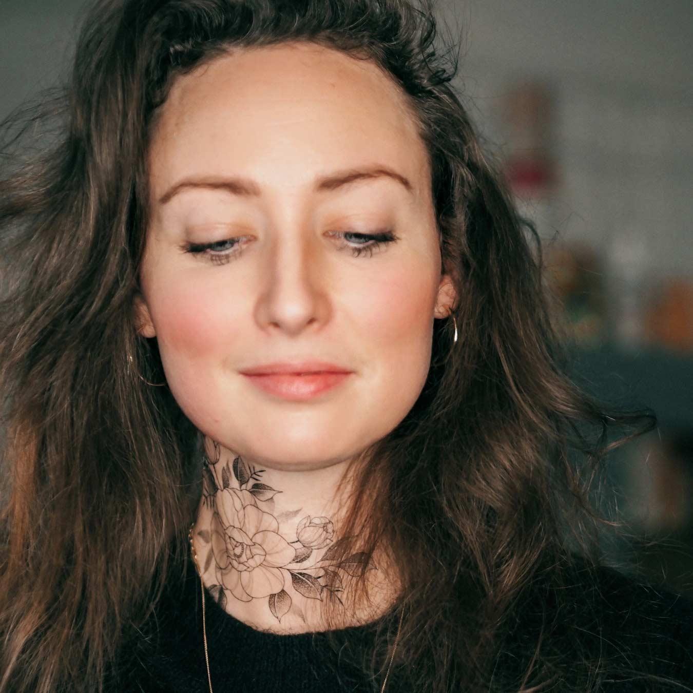 Alina BUNAMI INK – temporary tattoos, temporäres Tattoo